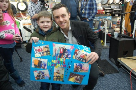 Nathan Carter With Special Fan