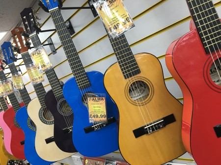 Guitars To Suit All Ages